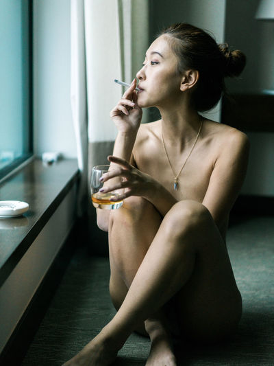 Beauty Boudoir Photography Boudoir Photoshoot Film Lifestyles Mood Moody Portrait Sensuality Sexygirl Smokinggirl