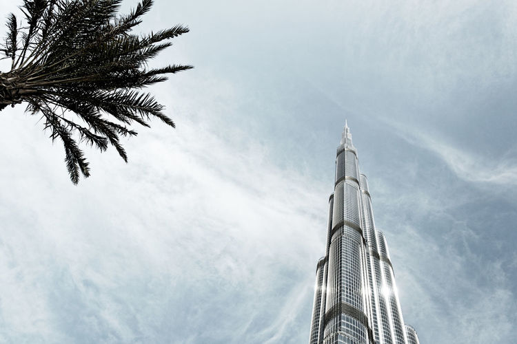 Burj Khalifa upview, Dubai, United Arab Emirates Architecture Building Exterior Burj Khalifa Burj Khalifa Park Downtown Dubai Emirates Exterior Highrise Sky Skyscraper Taking Photos UAE Upview