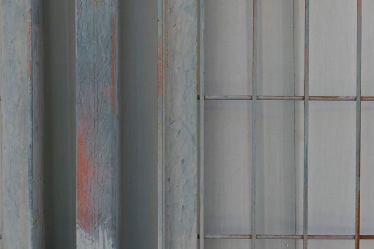 Full Frame Backgrounds Pattern No People Textured  Close-up Wall - Building Feature Day Metal Architecture Rusty Old Built Structure Weathered Side By Side Outdoors Gray Wall Corrugated Iron