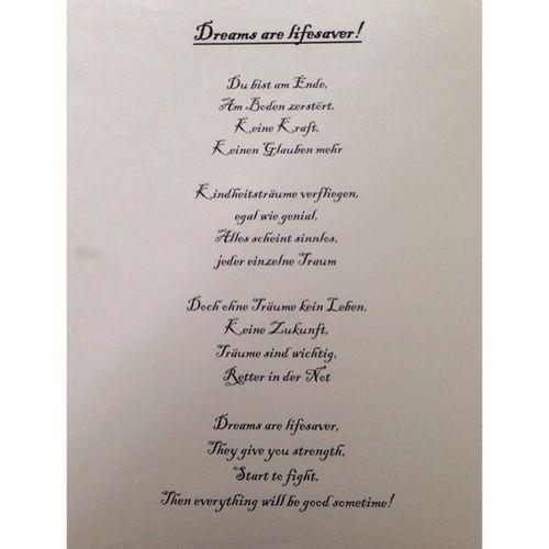Gedicht Selbstgemacht Selbstgeschrieben Hobby Love Bayreuth Klapse