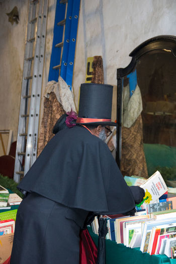 Christmas Christmas Carols Deventer, The Netherlands Dickens Festival Scrooge Costumes Dickens Ebenezer Old Clothing