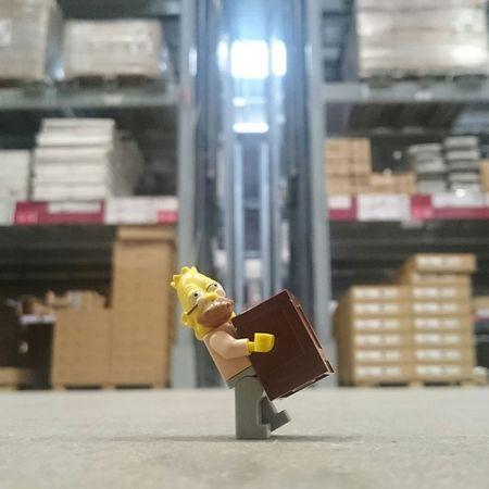 Ils sont partis où avec le chariot ? IKEA Abraham Simpson Simpson LEGO Lumbago