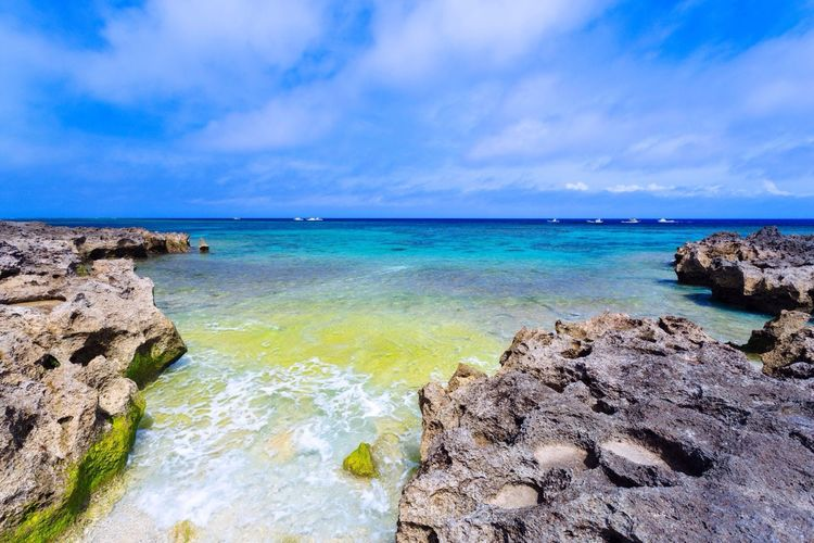 Sea And Sky Water_collection Seascape Seaside 沖縄 Miyakojima Okinawa Island Relaxing Nature Photography