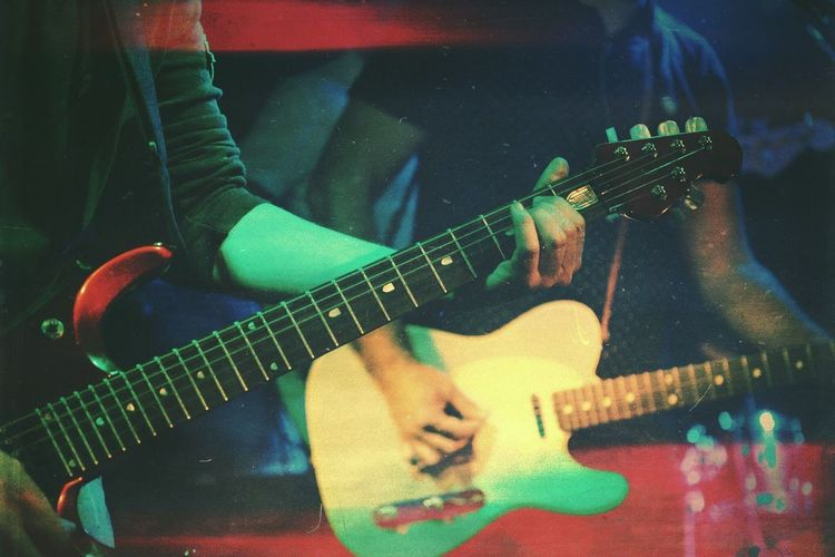 Music Musical Instrument Guitar String Instrument Musical Equipment Arts Culture And Entertainment Playing Artist Musician Guitarist Performance Indoors  Electric Guitar Plucking An Instrument Event Real People