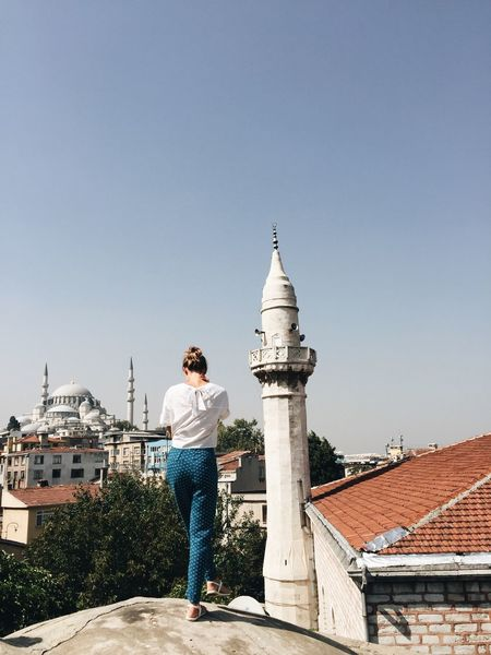 Istanbul Mosque Turkey Architecture Casual Clothing Istanbul Turkey Mosque One Person One Person Standing Young Women First Eyeem Photo