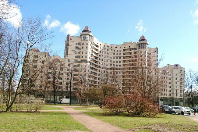 City House  Spring Савушкина солнечно город
