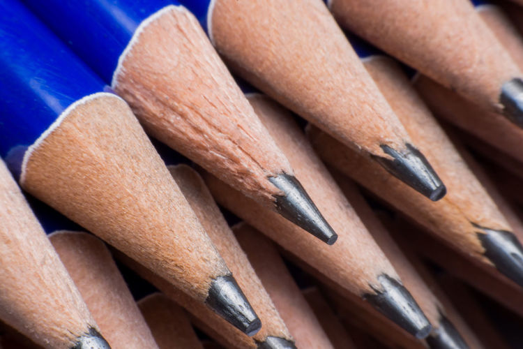 Sharpen pencils close up background. Pencil Close Up TIP Yellow Background White Isolated Wooden Sharp Graphite Lead Design Symbol Closeup Color Abstract Object Wood School Tool Pen Pencils Macro Blue Art Business Close-up Style Concept Fashion Nobody Drawing Work Group Creative Office Single Equipment Industry Education No People Brown Wood - Material Writing Instrument Table Focus On Foreground