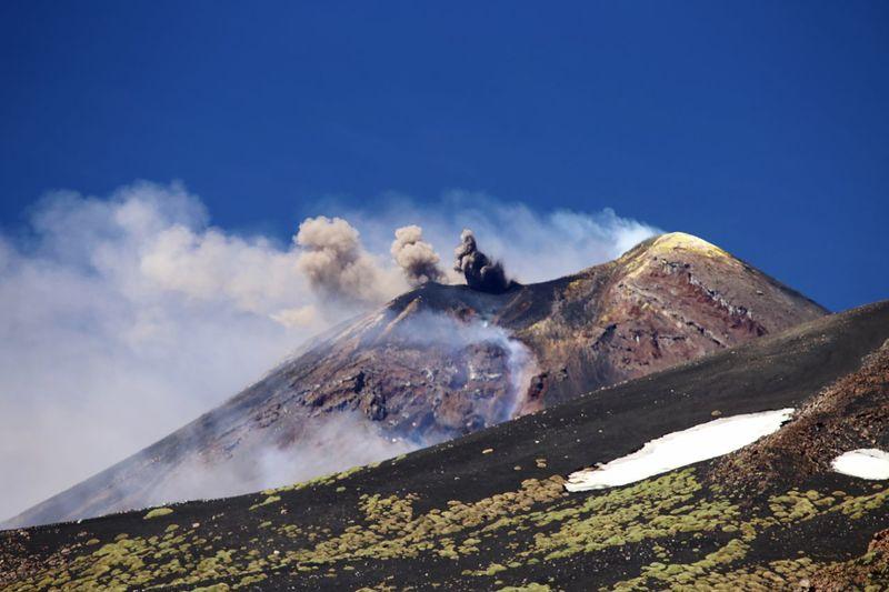 Volcanoe Etna,