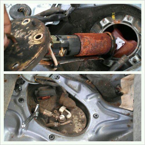 Replacing my ancient fuel pump for my Honda. Honda_swagg 95civic