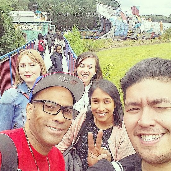 2nd Group Selfie! Thorpepark LindaFarrow CompanyOutting @ekta88 @rozydalton @noundjian
