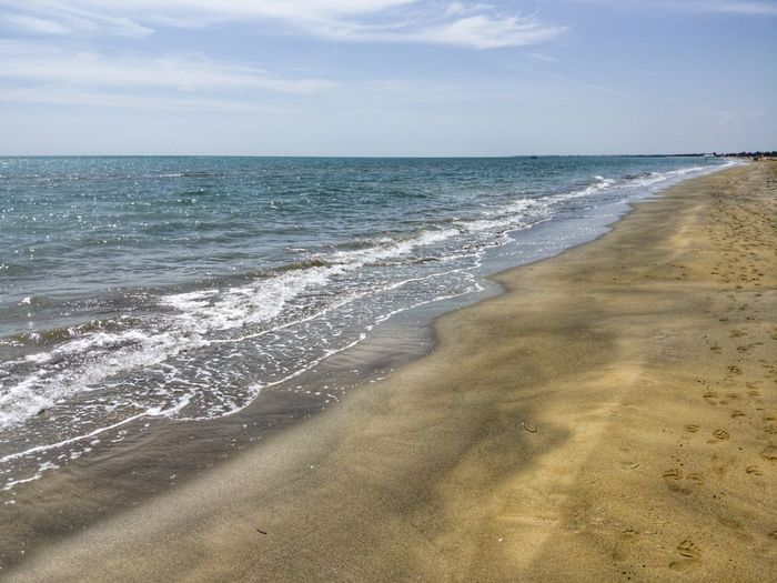 Water Wave Sea Sand Dune Beach Sand Summer Backgrounds Horizon Low Tide #FREIHEITBERLIN