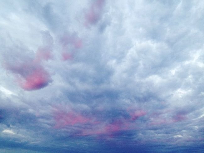 After Sunrise Clouds Colourful Clouds Blue And Pink Wonders Of Nature