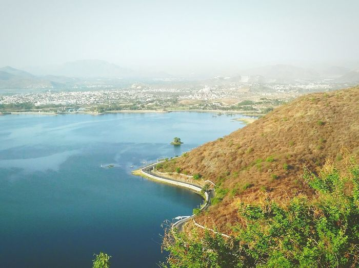 LoveNature Love Is In The Air Lovely Weather Hangout Water Lakecity Beautiful A Dream Begins Get Addicted A Dream Home Love It Half Land Half Water Save Water Save Earth Weather Sky Summer Morning Hillside Udaipur Lake The Great Outdoors - 2016 EyeEm Awards