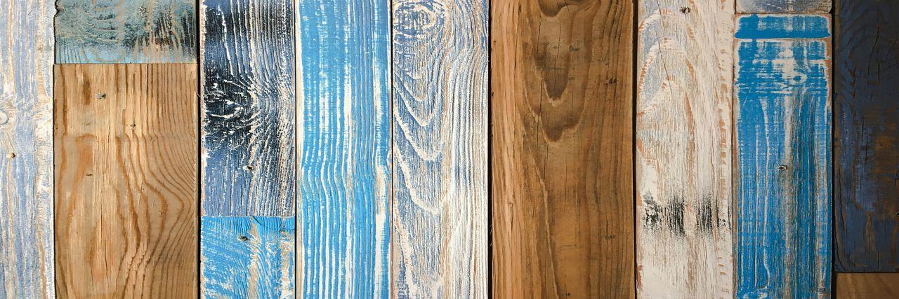 Full frame shot of wooden plank outdoors