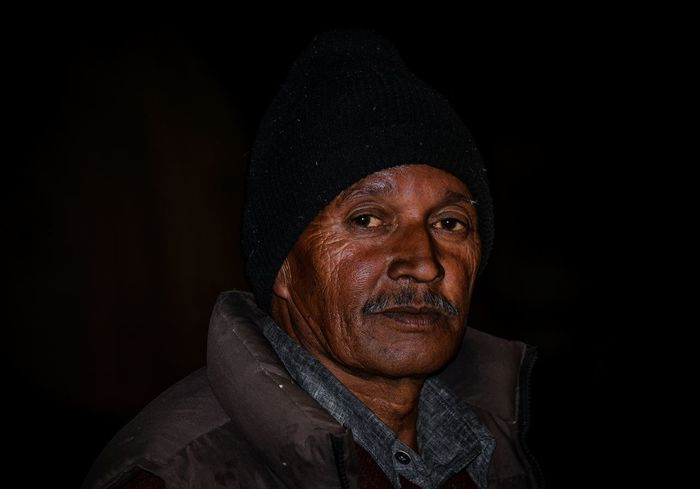 Wrinkles speaks the age India Potrait Black Cap EyeEm Best Wrinkles Old Black Night Man Headshot Portrait Black Background One Person Studio Shot Adult Looking At Camera Men Clothing Close-up Lifestyles Mature Adult Front View Males  Real People Hood - Clothing Human Face