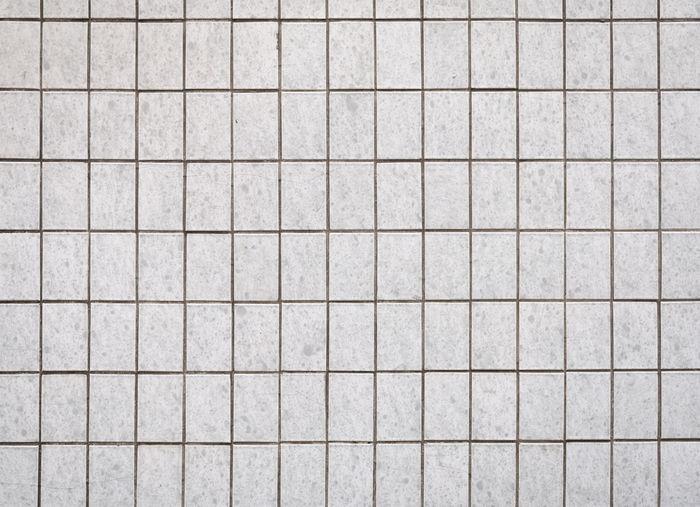 White tiling