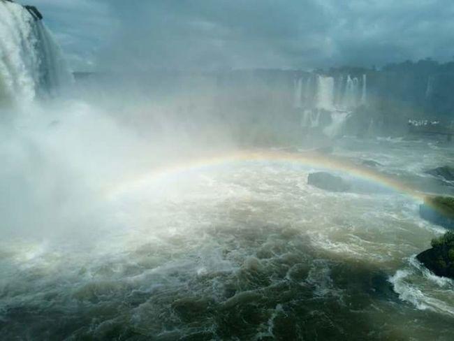 Iguazu 🌈🔆 Iguazu Falls Argentina Argentina Photography Nature_collection Nature Cascate Iguazu National Park Arcobaleno  Arcoiris🌈 Rainbow