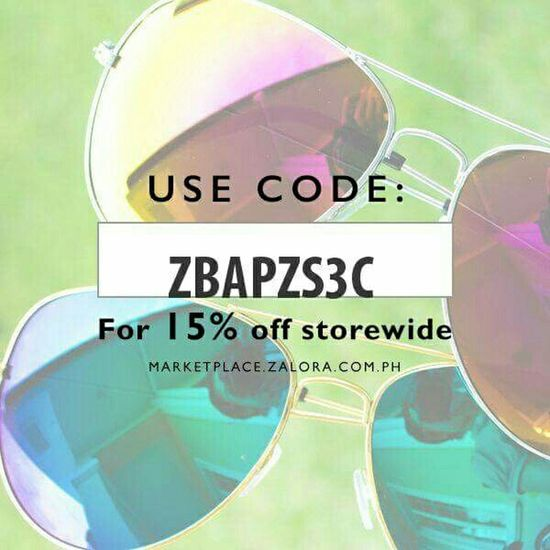 Hi! Hello World Check This Out Shades Sale ZaloraPH Code Onlineshopping Onlineshop Discount shop it here >>>http://zalora.com.ph