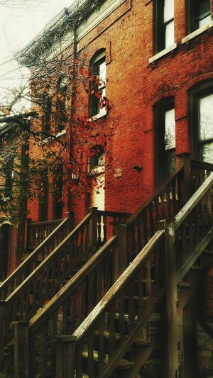 Eyem Best Shots - UpstateNY Brick Building Architecture_collection Stairs_collection Abandoned Buildings Empty Places Architectureworthsaving Eye4photography