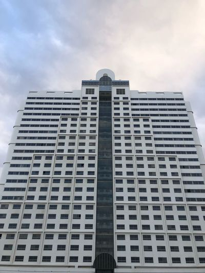 Building Exterior Built Structure Architecture Sky Low Angle View Building Cloud - Sky City Office Building Exterior Tall - High Modern Skyscraper Office Travel Destinations Apartment Outdoors Tower