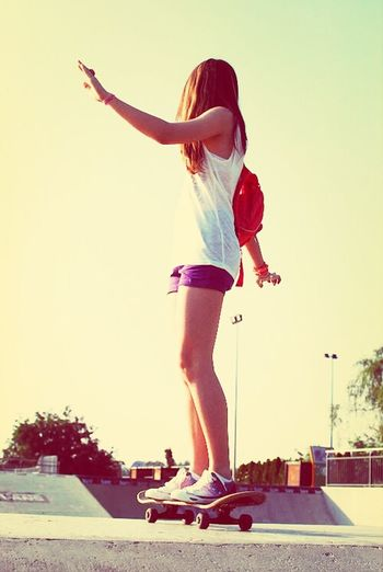Me encanta andar en skater!!!!