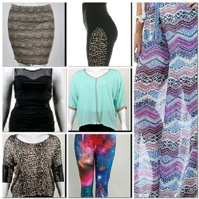 """Plus Size Fashion shop whole collection still a few hours let for site sake enter """"BLOWOUT"""" and receive 30% off NikkieSkorner.com"""