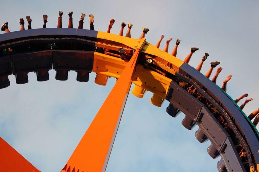 Cedar Point Roller Coaster Blue Sky Roller Coaster Capital Of The World Feet Many Feet Many Legs Fun Speed
