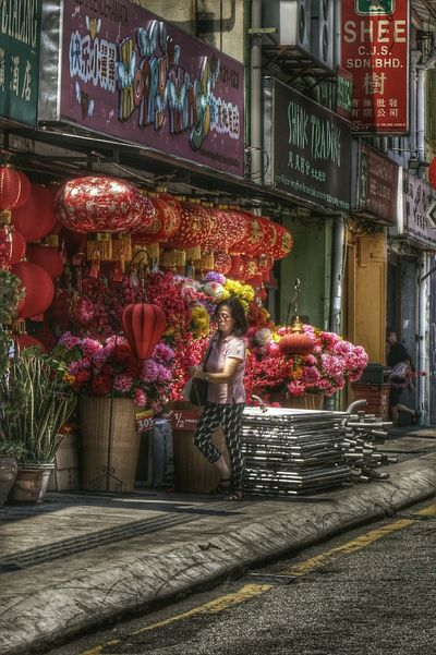 HDR Chinese Lanterns People Photography Chinese New Year Decor Streetphotography Walking Around