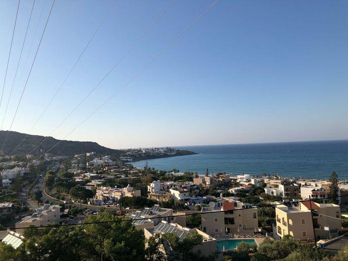 #Greek #Kreta #Stalis Stalis Crete Stalis Greek Islands Sky Water Architecture Building Exterior Sea Built Structure Clear Sky
