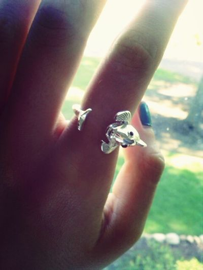 pretty awesome new Koi fish ring! Ring Koi Jewelry Symbolism