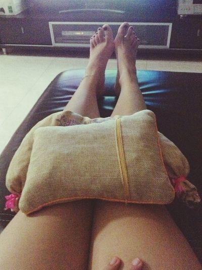 warm my knees up.