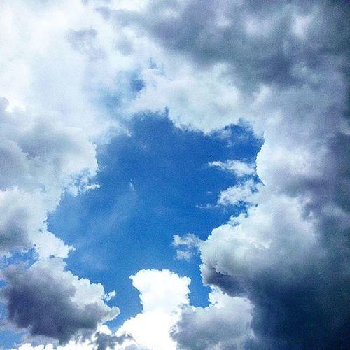 Cloud Cielo Nuvole Sky Skyporn Summer Summertime Summer2015 Blue Cloudporn Clouds