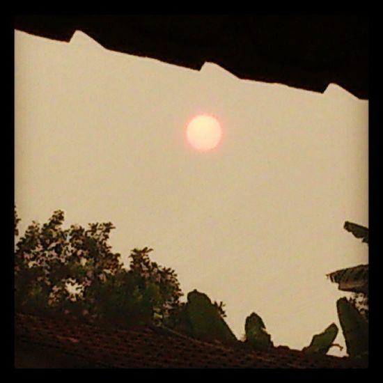 pagi di senawang..Matahari Senawang Sun .