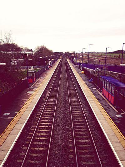 Train line to Birmingham
