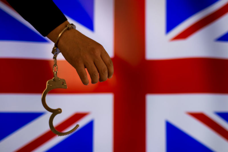 British Britania Bribe Murder Prisoner Escape Handcuffs  Justice Law Prison Thief Legal System Legal Trial Justice - Concept Courthouse Police Station Prison Cell Hostage Prison Bars