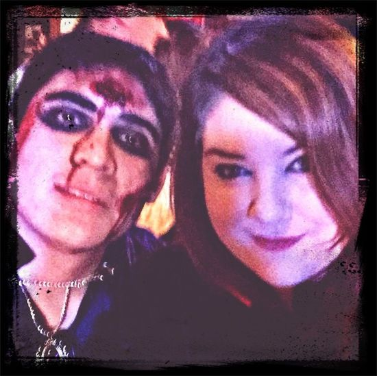 Me and my cousin on halloween in Ireland ☺️ Halloween Cousin Family Party
