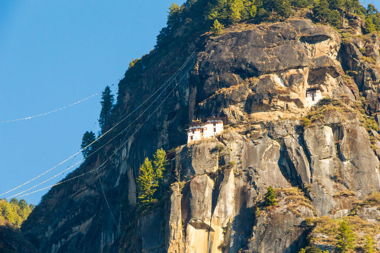 ASIA Architecture Buddhist Monastery Taktsang Tiger's Nest Bhutan Buddhism Cliff Cliffside Formation Heritage Mountain Paro Paro Taktsang Rock Rock - Object Scenics - Nature Temple Tigers Nest Traditional World Wonder