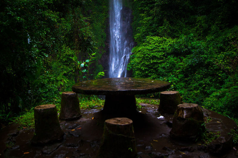 putuk truno Long Exposure Green Gogreen SaveNature Landscape Landscapephotography Longexposures Waterfall Putuktruno Putuktrunowaterfall Water Green Color Nature No People Day Outdoors Tree