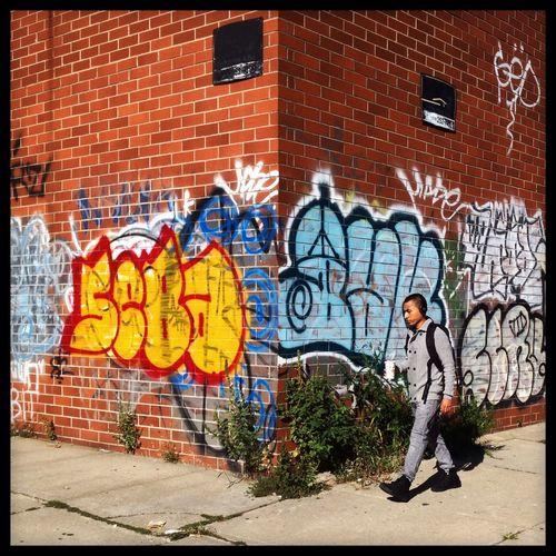 On The Corner Streetphotography Graffiti Streetart