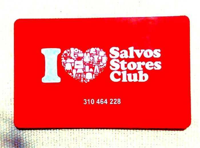 Rewards Cards RewardsCards No People Salvos Thank God For The Salvos Love Heart Salvos Stores Club SalvosStoresClub Text&symbols Text Western Script WesternScript Red And White Plastic Card Loyalty Card * Thank God For The Salvos * The Salvos The Salvation Army Plastic Cards I Heart The Red Shield Thesalvationarmy Salvation Army Loyalty Cards Plastic LoyaltyCards Information