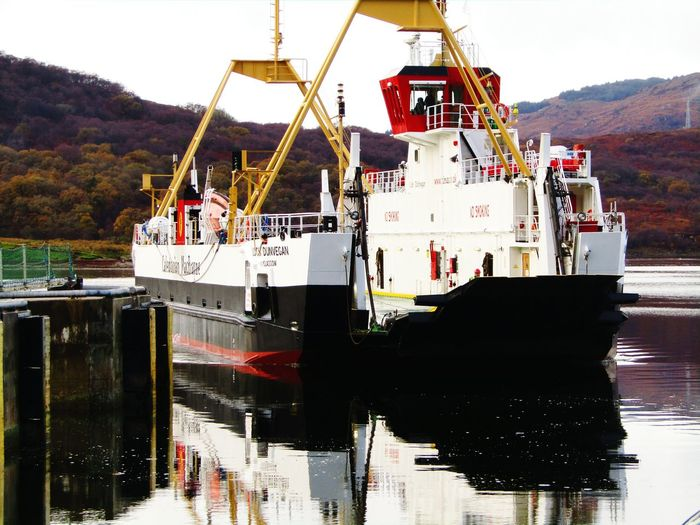 Reflection Outdoors Water No People Travel Destinations Autumn Scotland Reflection Changing Colours Nature Kile Of Bute Ferry Crossing Isle Of Bute Loch