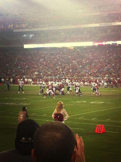 Arizona Cardinals VS San Diego Chargers <3!
