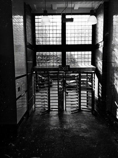 Interior of empty building