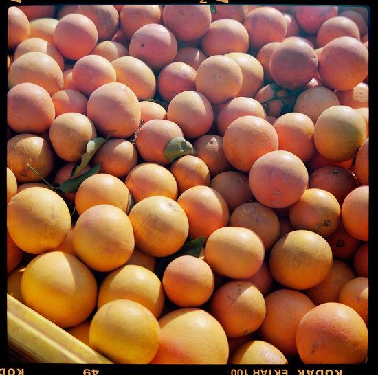Full frame shot of eggs in market