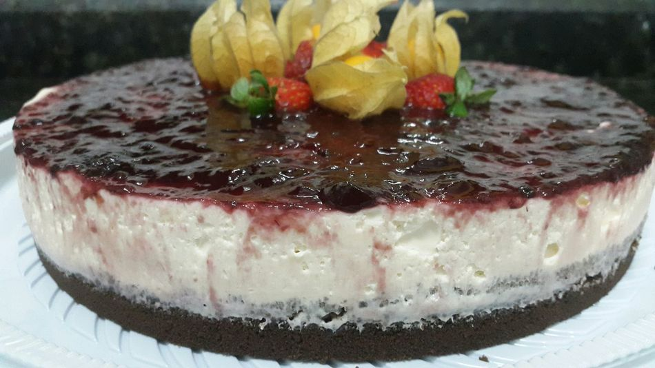 Cheesecake Cheesecake <3 Cheesecake Time Handmade By Me Handmade Dessert Desserts Delicious In My Mouf Open Edit