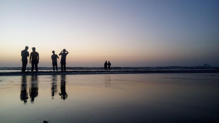 An evening at Juhu Beach, Mumbai First Eyeem Photo