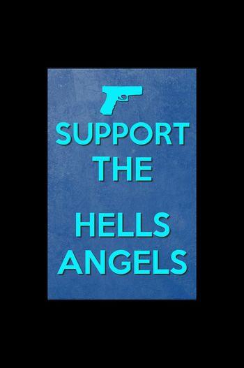 Hells Angels support hamc!!