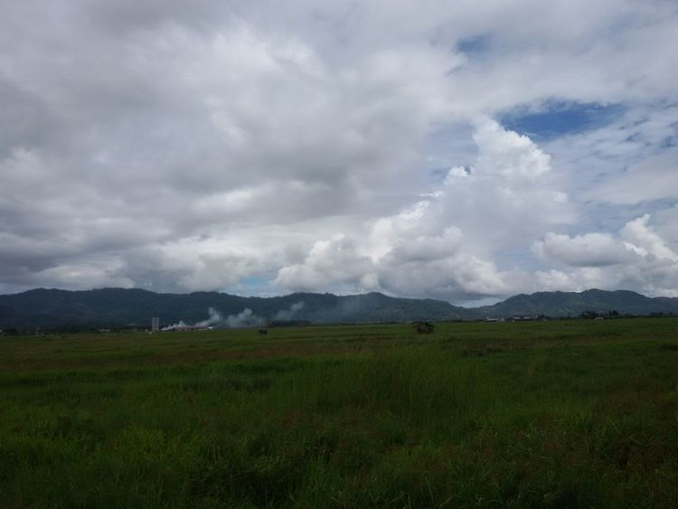 Minahasa View Tondano Motherland Sky_ Collection Cloud Nature Sky And Clouds Cloudporn Cloudy, Cloud Over, Become Overcast, Lower, Blacken, Darken.