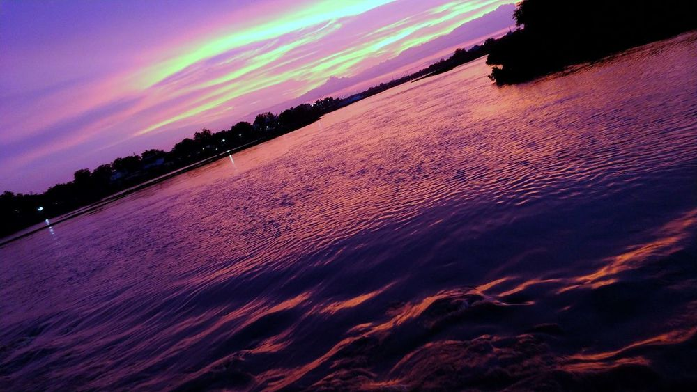red river Nightphotography Night River Evening Light Evening River Riverside Red Red River Multi Colored Astronomy Sunset Awe Sky Landscape