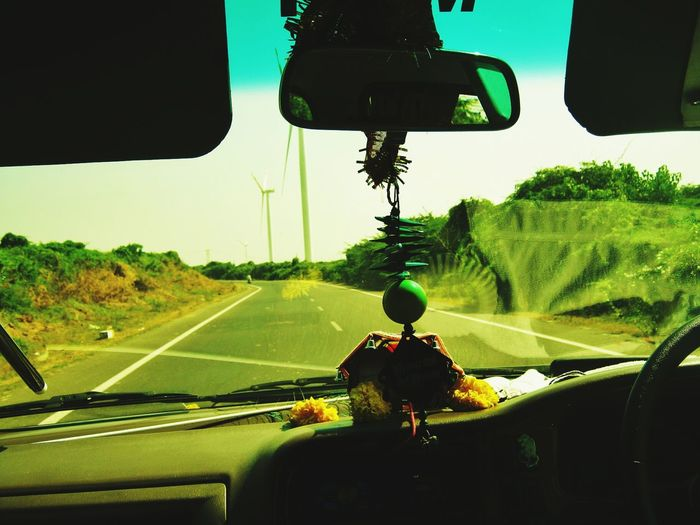 Capture The Ride With Uber Chasing Windmills That Lonely Road High Speed Photography